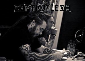 septic flesh studio